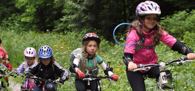 all girls bike camp